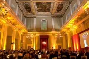 We provide photographers for corporate gala dinners in London