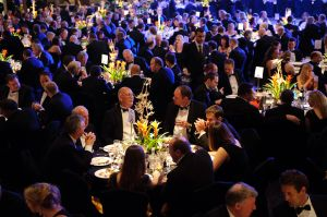 Professional photography from a corporate gala dinner in London