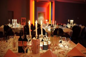 Table photography from a London corporate event