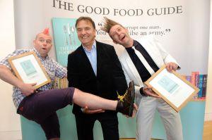 Raymond Blanc with Good Food Guide award winners