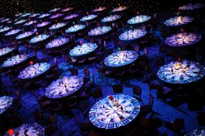 Venue photography for a corporate event at Grosvenor House, London