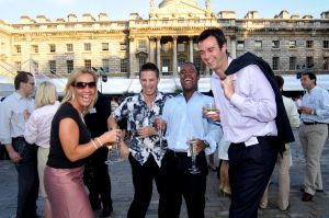 Summer corporate party photography in London