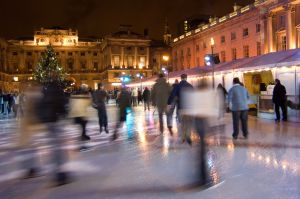 Photography for corporate drinks reception at Somerset House ice rink