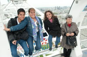 group tour of the London Eye 4