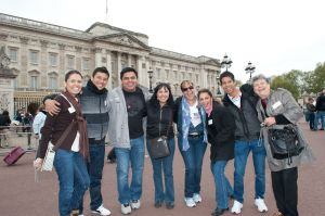 Buckingham Palace group tour photography